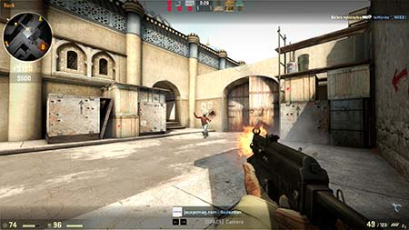 צילום מסך של CS: GO (Counter-Strike: Global Offensive)